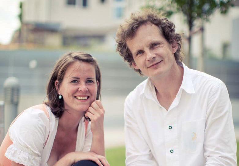 Hanna Wolf und Radovan Laco