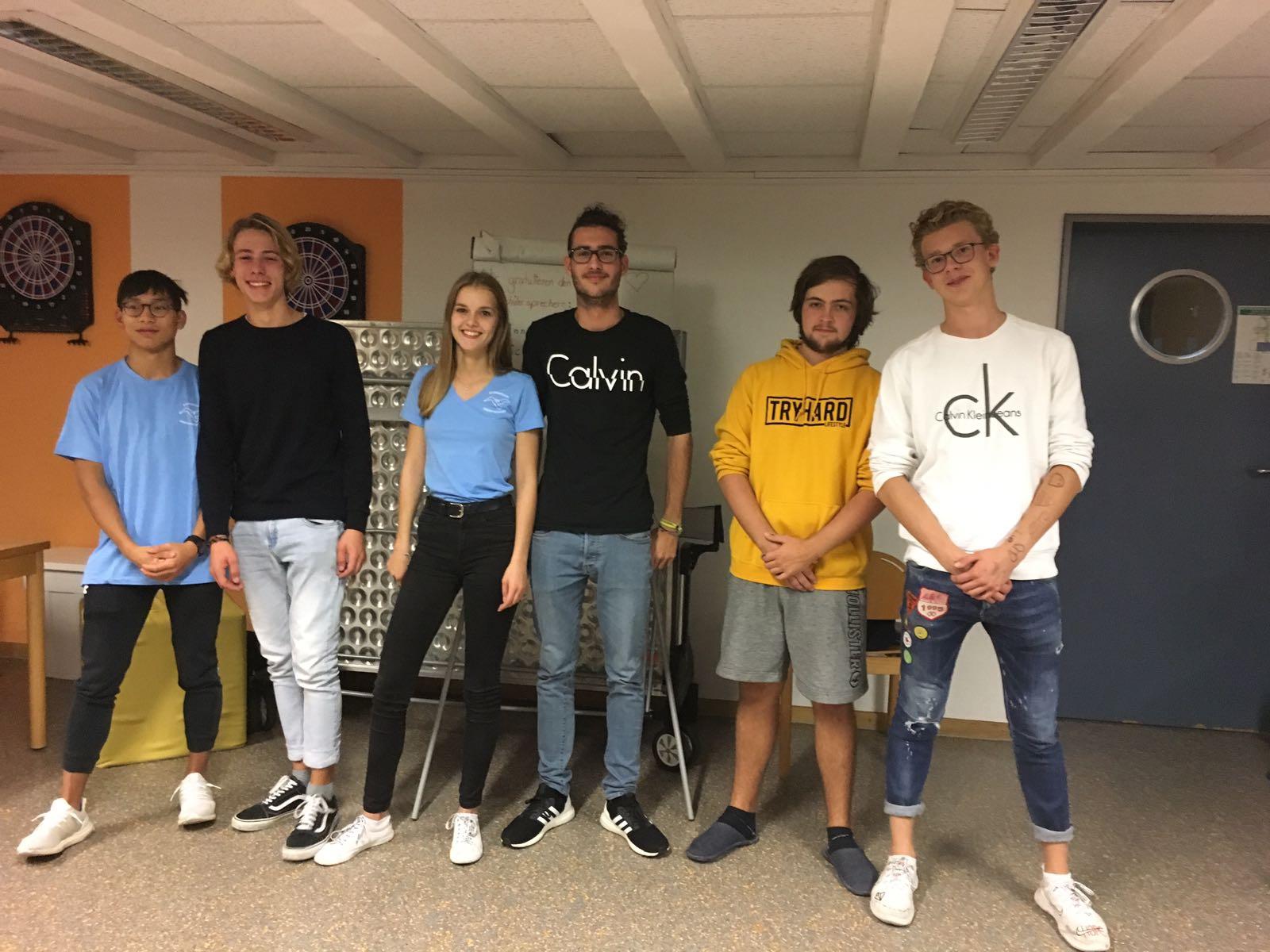 Schülersprecher und Stellvertreter